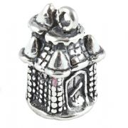 Fairytale Castle 3D Sterling Silver Charms